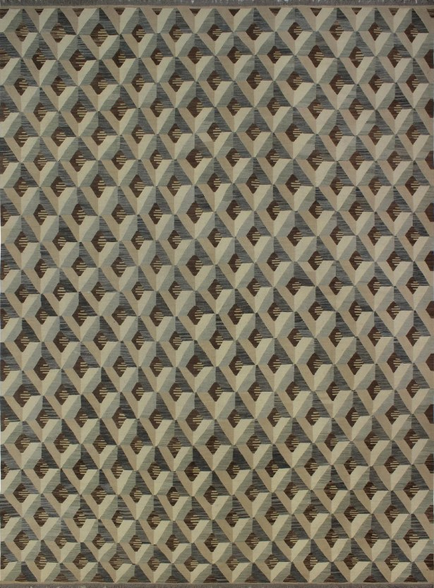 One-of-a-Kind Deb KilimHand-Woven Beige Are Rug