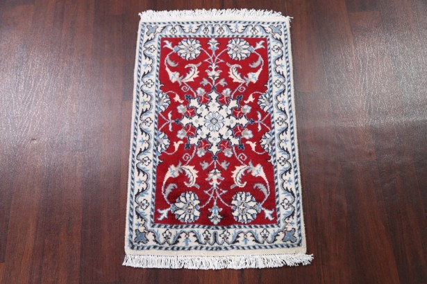 One-of-a-Kind Traditional Modern Gabbeh Shiraz Persian Hand-Knotted 3'3