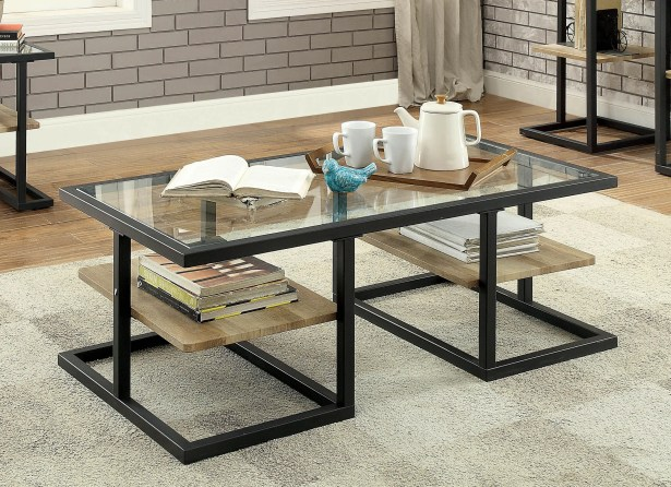 Alexys Glass Coffee Table