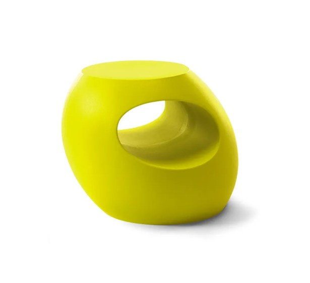 Berryman Side Table Color: Chartreuse