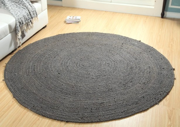 One-of-a-Kind Preusser Hand Woven Gray Are Rug