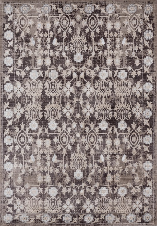Rummond Taupe/Brown Area Rug Rug Size: Rectangle 3'11