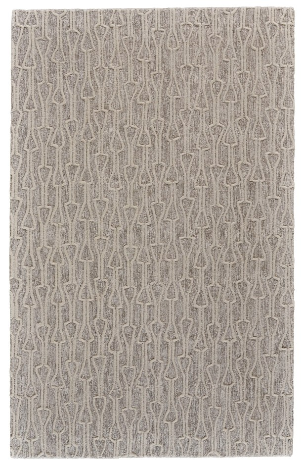 Grider Hand-Tufted Wool Ivory/Natural Area Rug Rug Size: Rectangle 3'6
