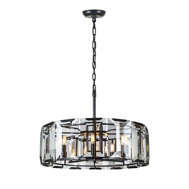Genovese 8-Light Chandelier Finish: Gray