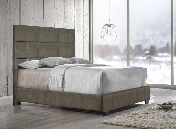 Pohlman Upholstered Panel Bed Color: Nickel, Size: Queen