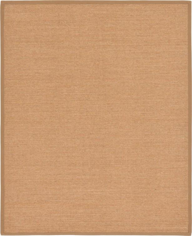 Gudrun Light Brown Area Rug Rug Size: Rectangle 8' x 11'