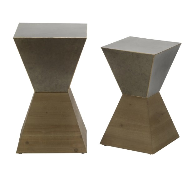 Plumley 2 Piece End Table Set