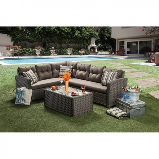 Contemporary Patio Sectional