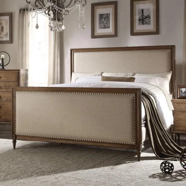 Utica Queen Upholstered Platform Bed