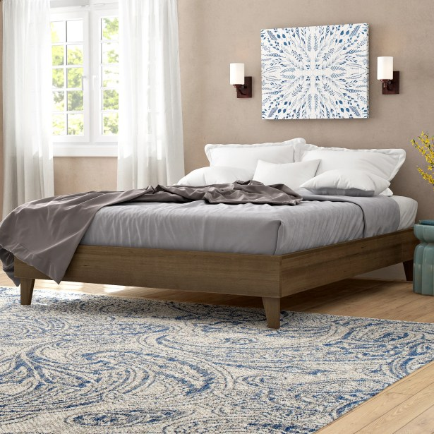 Thornaby Exceptional Platform Bed Size: Queen, Color: Gray