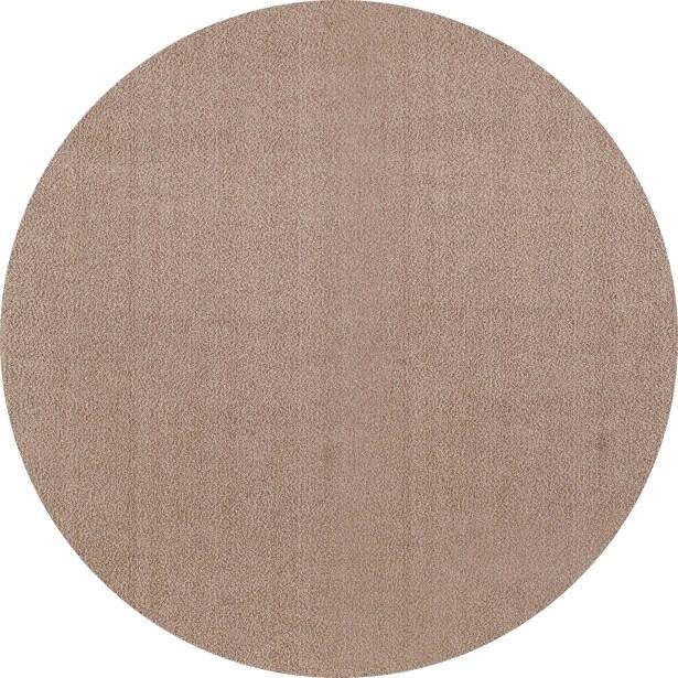 Rangel Pearl Beige Area Rug Rug Size: Round 7' 10
