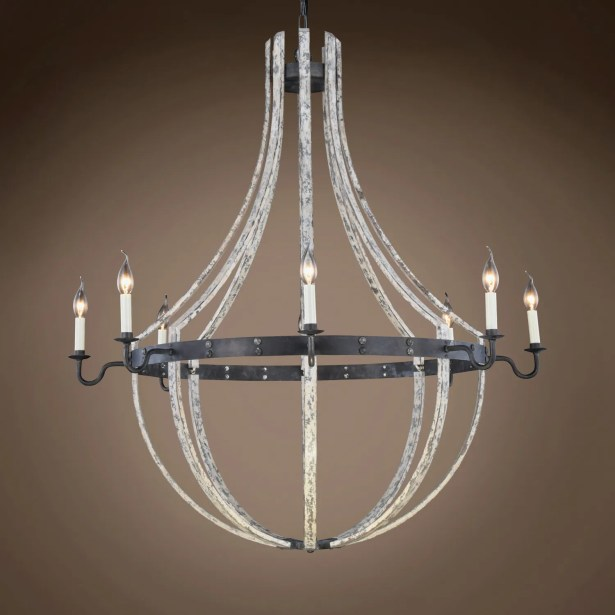 Calantha 8-Light Candle Style Chandelier