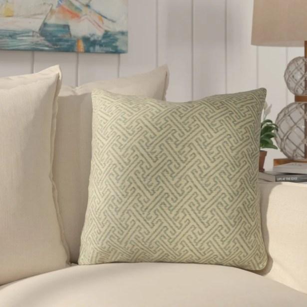 Krumm Luxury Throw Pillow Size: 22