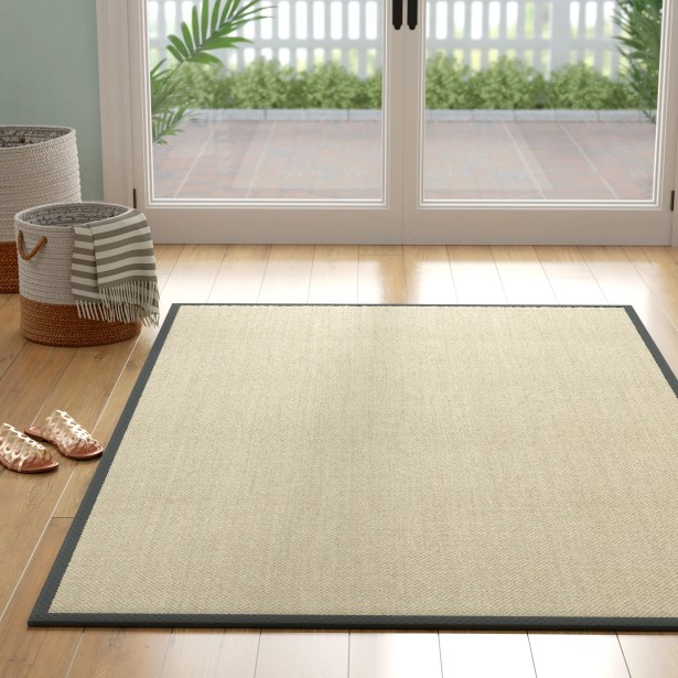 Richmond Hand-Woven Marble/Gray Area Rug Rug Size: Rectangle 5' x 8'