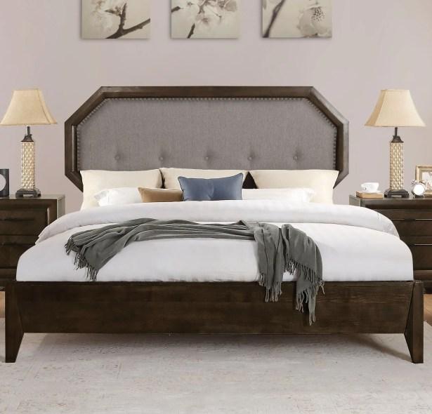 Baver Upholstered Panel Bed Size: California King