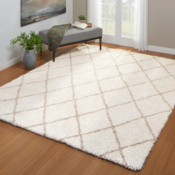 Summerfield Ivory Area Rug Rug Size: Rectangle 5' x 7'