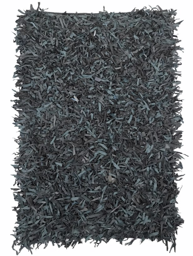 Grigg Hand-Knotted Gray Area Rug Rug Size: Rectangle 5' x 8'