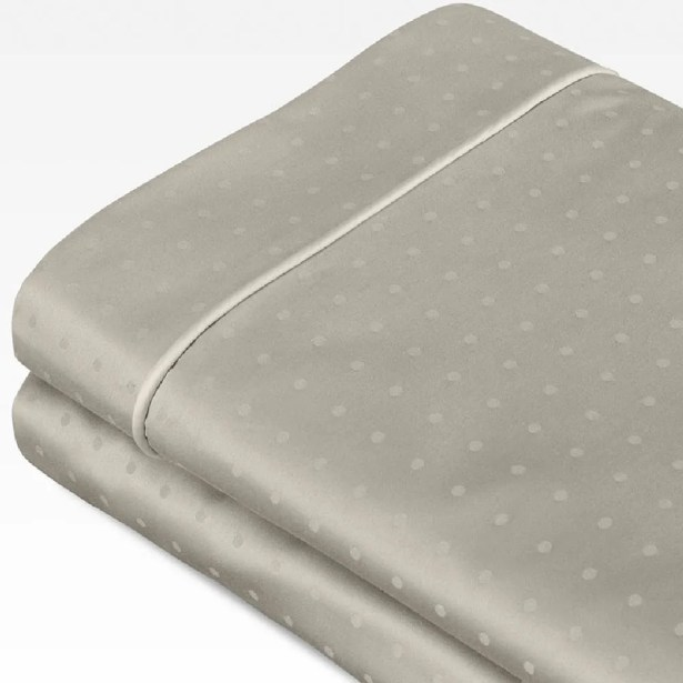Swiss Dot Jacquard 100% Cotton 700 Thread Count Sheet Set Size: California King, Color: Sage Green