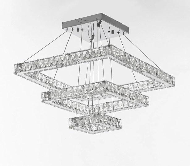 Latshaw 108-Light LED Crystal Chandelier