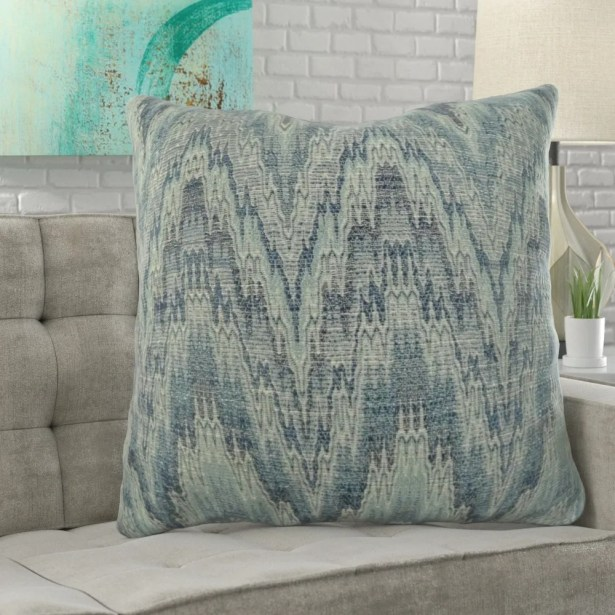 Lambright Zig Zag Designer Pillow Fill Material: Cover Only - No Insert, Size: 16