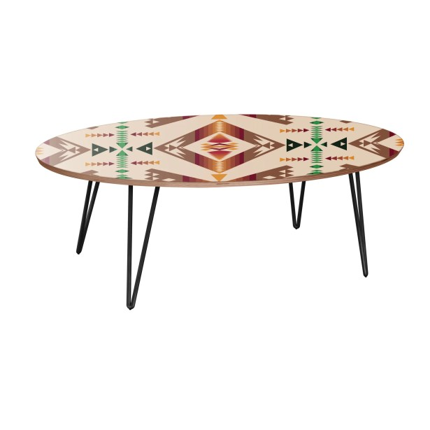 Howlett Coffee Table Table Base Color: Black, Table Top Color: Walnut
