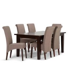 Dining Table Sets Avalon 7 Piece Dining Set