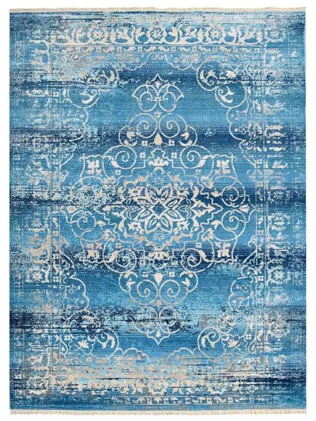Hartshorn Crossweave Blue Area Rug Rug Size: Rectangle 6' x 9'