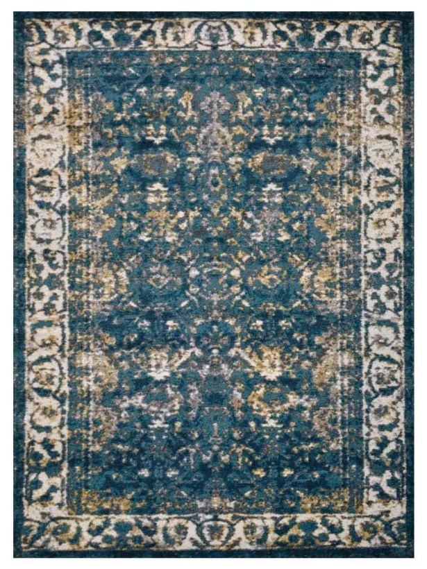 Hartshorn Blue/Green Area Rug Rug Size: Rectangle 9' x 12'