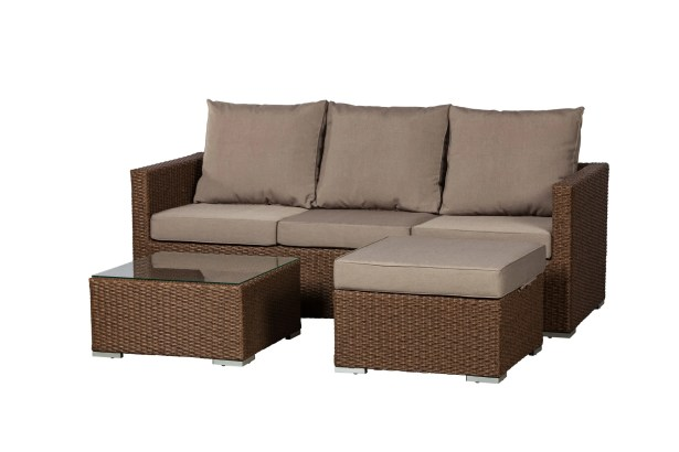Dorsey 3 Piece Sectional Set with Cushions
