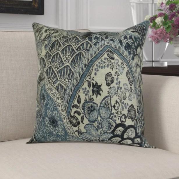 Efird Spring Scenic Designer Pillow Size: 26