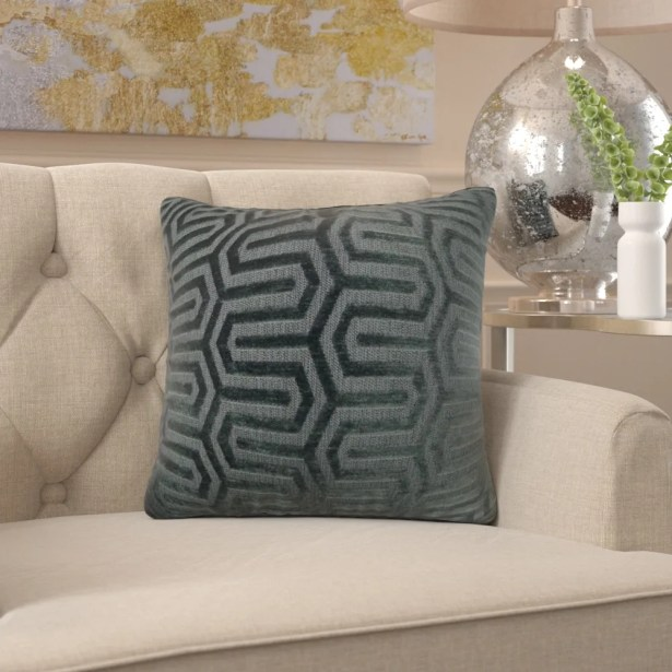 Frates Maze Pillow Fill Material: H-allrgnc Polyfill, Size: 20