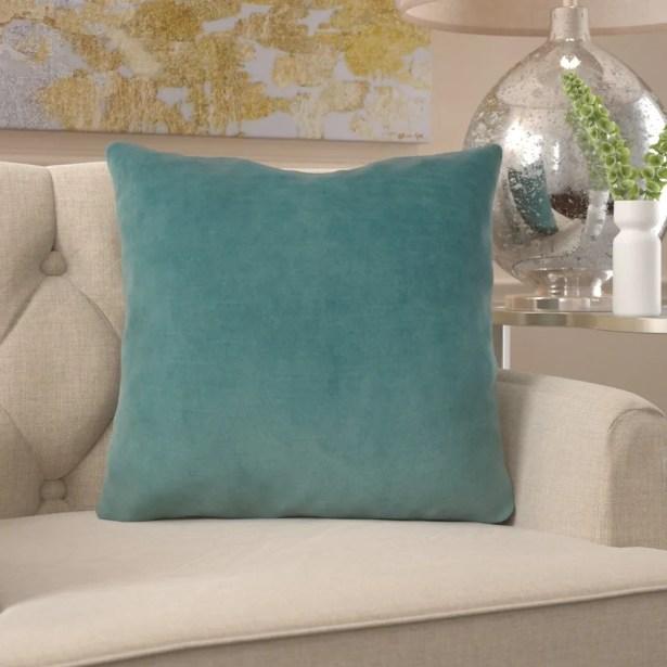 Frasher Luxury Designer Pillow Fill Material: Cover Only - No Insert, Size: 16