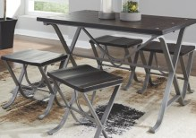 Dining Table Sets Charleen Dining Table and Stools