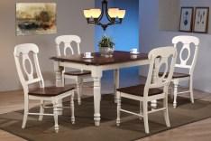 Dining Table Sets Kenya Butterfly Leaf 5 Piece Breakfast Nook Solid Wood Dining Set