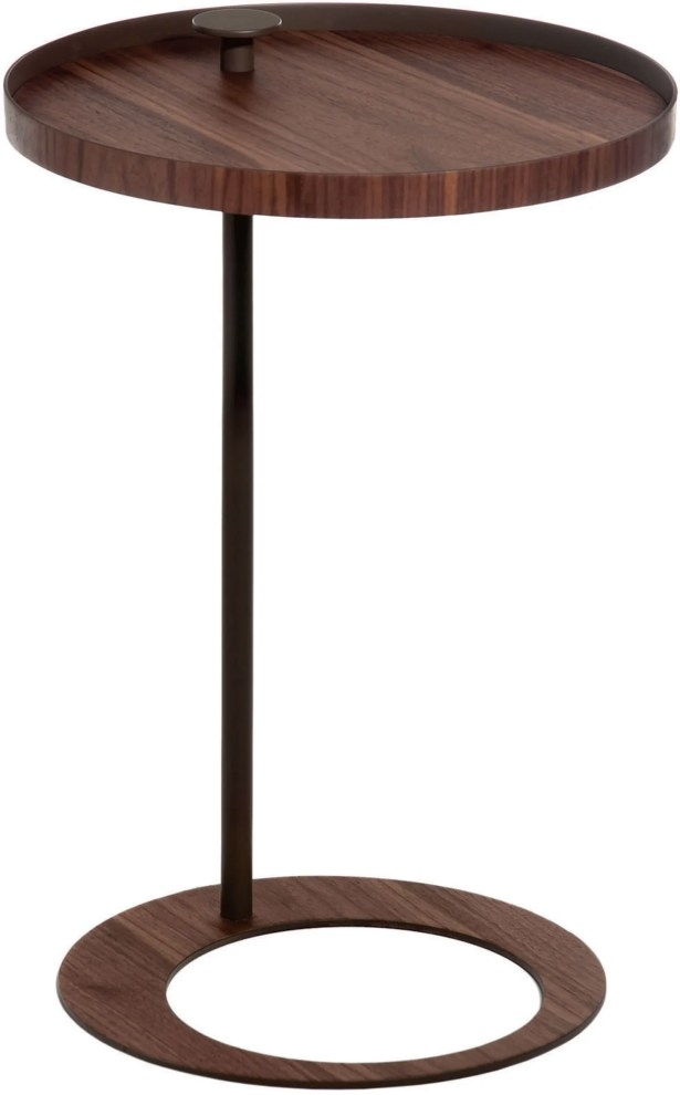Horatio End Table Color: Walnut