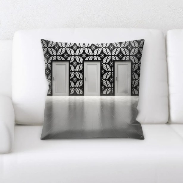 Lawson Door (3) Throw Pillow