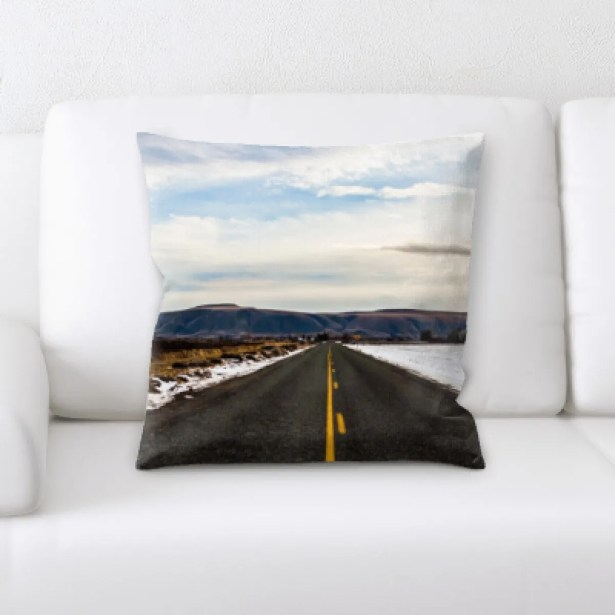 Richas A Road to Many Places (120) Throw Pillow