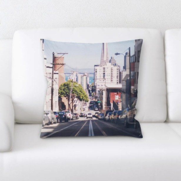 Opalo A Road to Many Places (82) Throw Pillow