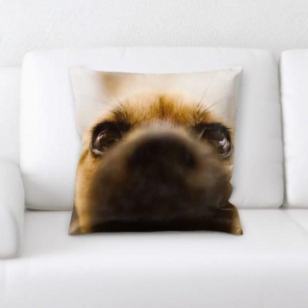 Kacey Animal (10) Throw Pillow