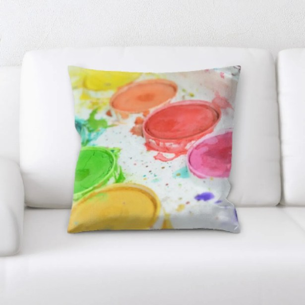 Whitehead Colors Throw Pillow