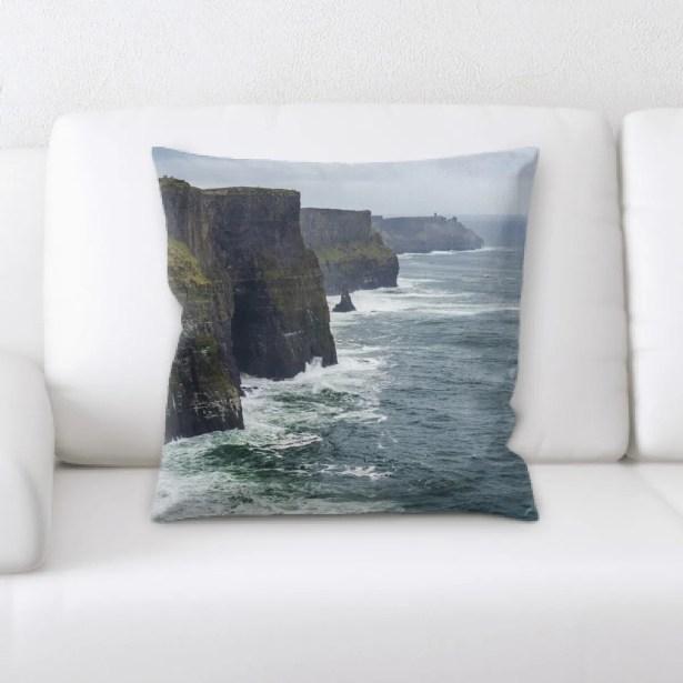 Orrie Mountain and Cliffs (144) Throw Pillow