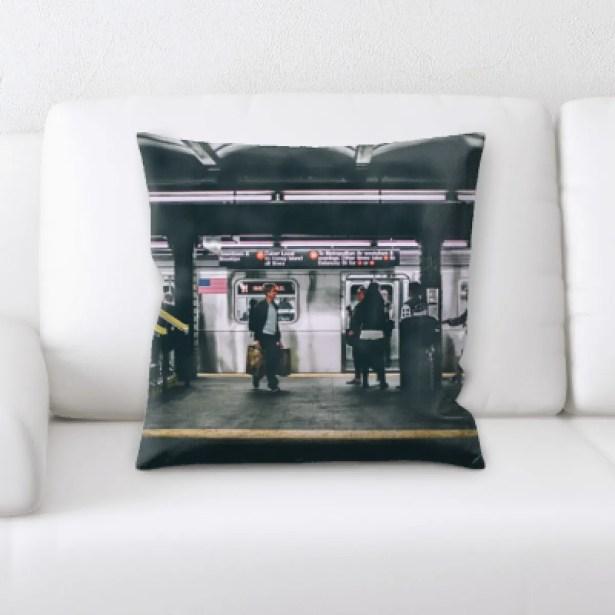 Parham New York City Shots (6) Throw Pillow