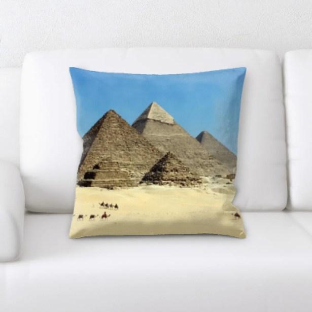 Jimena Pyramid Throw Pillow
