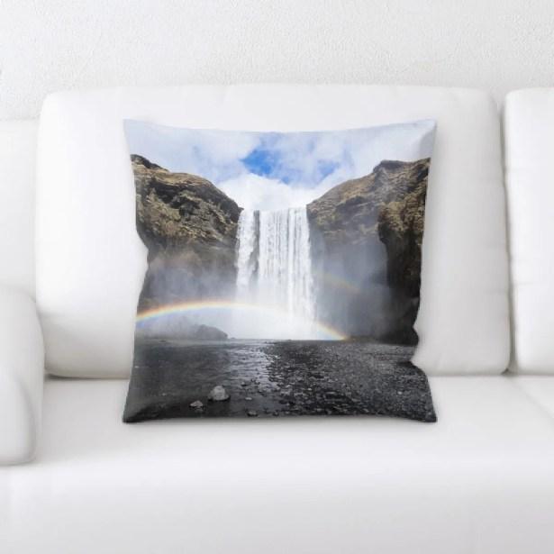 Rainbow (40) Throw Pillow