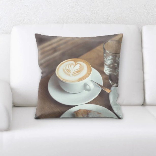 Colvin Restaurant & Cafe Life Style (90) Throw Pillow