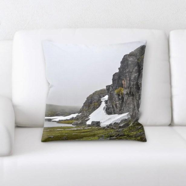 Waterfall (58) Throw Pillow