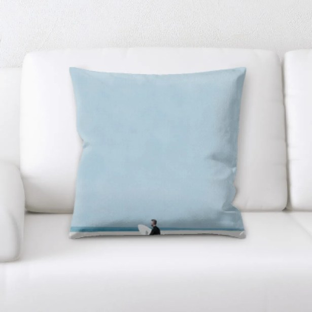 Stephen The Great Sea (100) Throw Pillow
