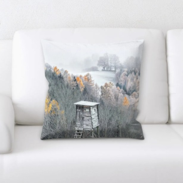 Winter Feeling (203) Throw Pillow