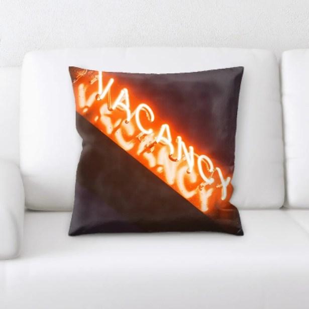 Waithman Neon (154) Throw Pillow