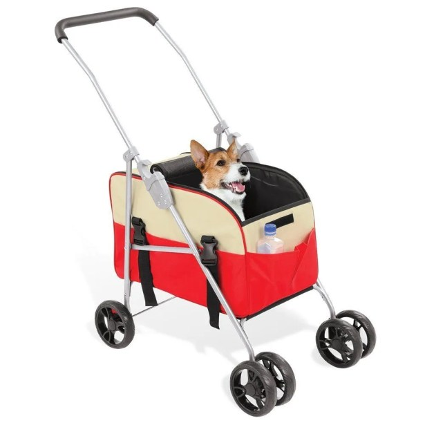 Mary 3 in 1 Pet Carrier Color: Red